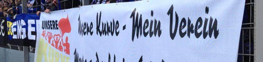 Unsere Kurve – Mein Verein – Montag darf kein Spieltag sein!